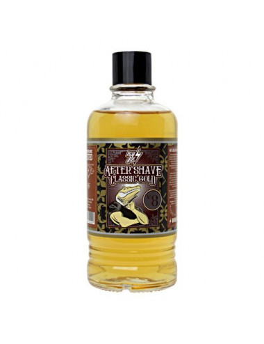 AFTER SHAVE Nº 8 CLASSIC GOLD   LOCIÓN AFTER SHAVE 400 ML.