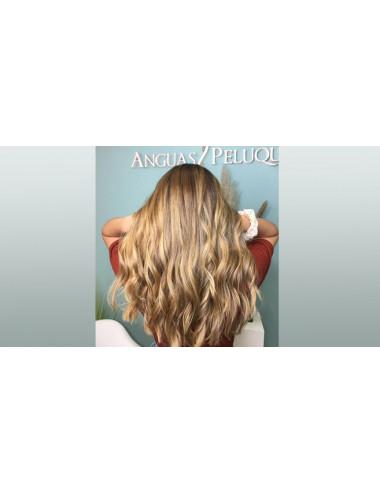Balayage Natural + Matiz + Lavado Con Masaje + Corte +  TTº XPREX y Peinado