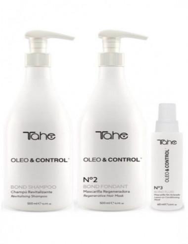 Bond Oleo Control Shampoo Revitalizante+Mascarilla Regeneradora+Mascarilla sin aclarado