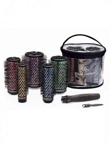 Multi Brush Kit 6 Piezas - Olivia Garden
