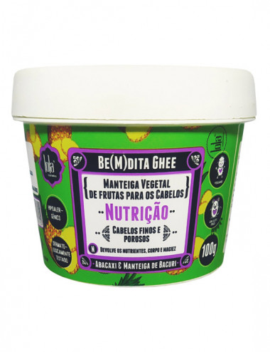 Be (m) Dita Ghee Nutricao Abacaxi 100g Lola Cosmetics