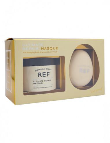 Box - Masques & Detangling Brush - Ultimate Repair 250ml - REF