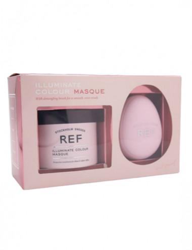 Box - Masques & Detangling Brush - Illuminate Colour 250ml- REF