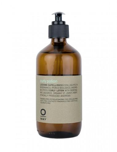BeCurly. Curly potion 240 ml - Oway. Loción para cabello naturalmente rizado y con permanente.