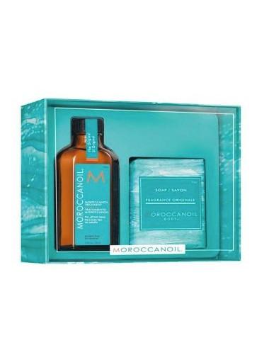 Pack Tratamiento aceite todo tipo de cabello + Jabón
