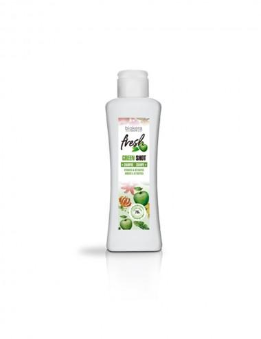 Champú Green Shot Champ Frescor , Hidrataion Tratamiento capilar orgánico 100% vegano