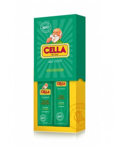 Caja Regalo Afeitado BIO Crema & Bálsamo Cella Milano