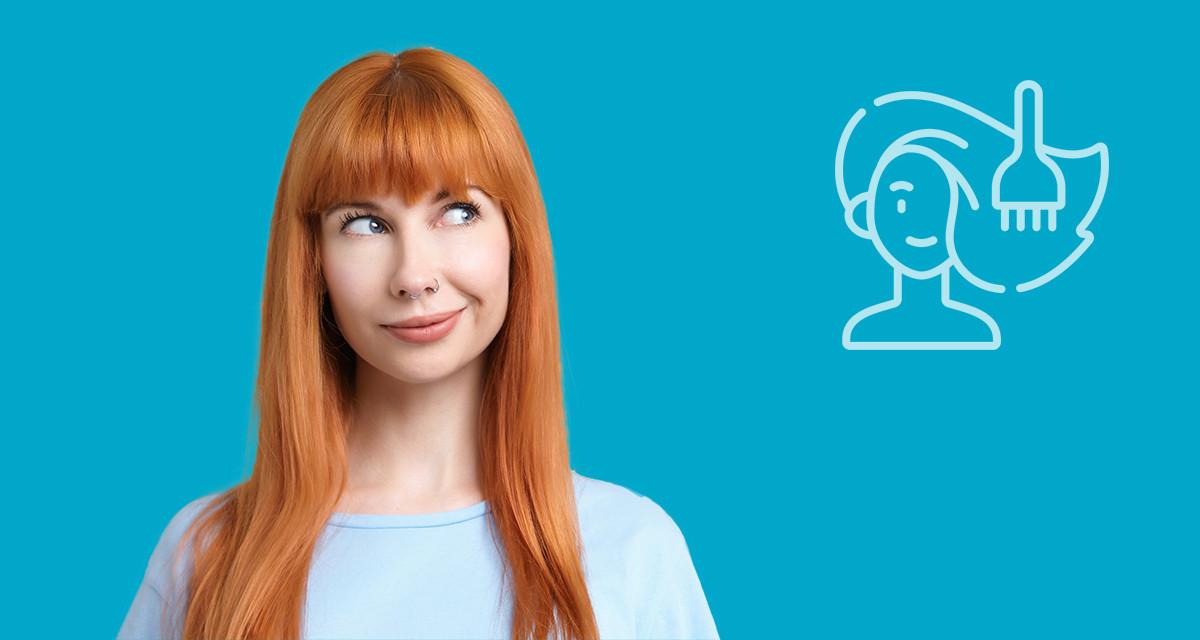 Descubre la coloración temporal para tu cabello