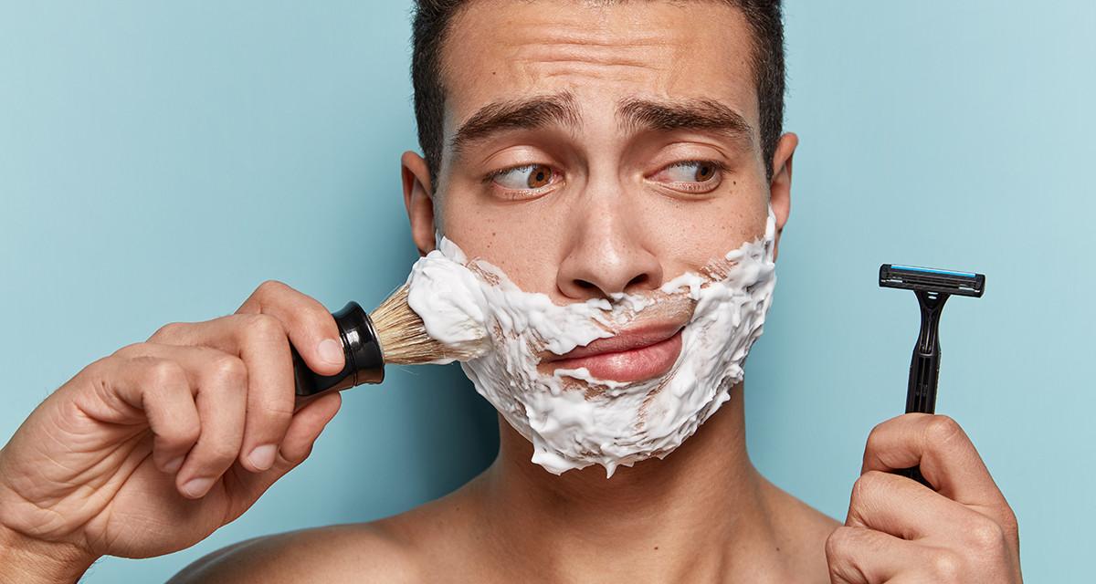 5 Errores que estás cometiendo al afeitarte